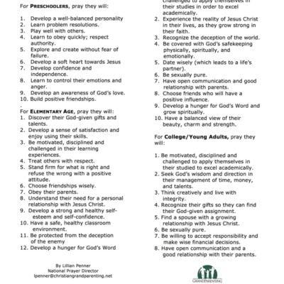 prayer-suggestions-for-grandchildren-in-school