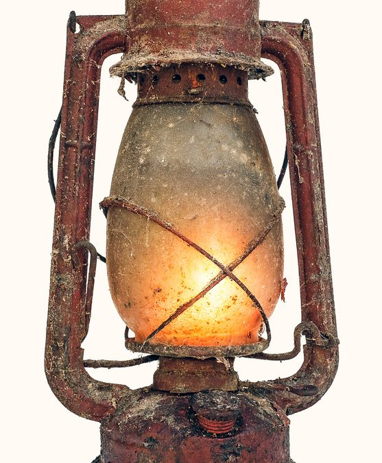 A Battered Old Lantern